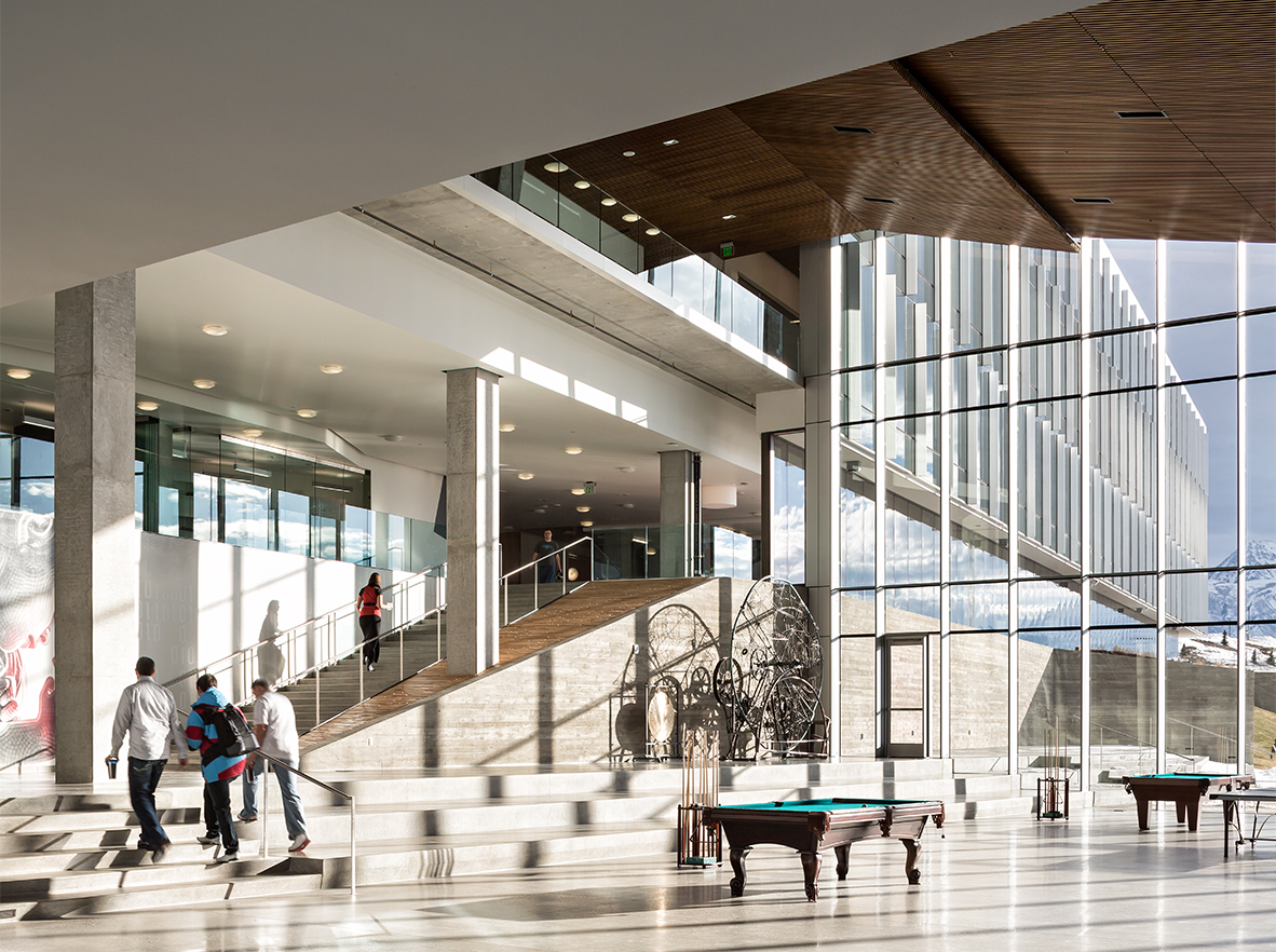 Adobe interior grand stair