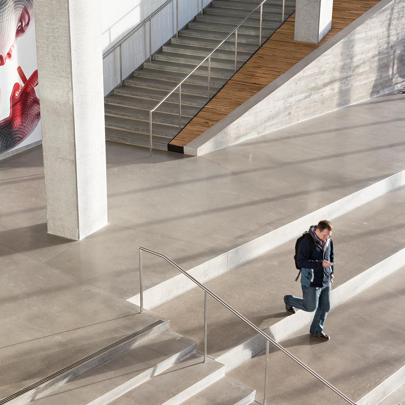 Adobe stair detail