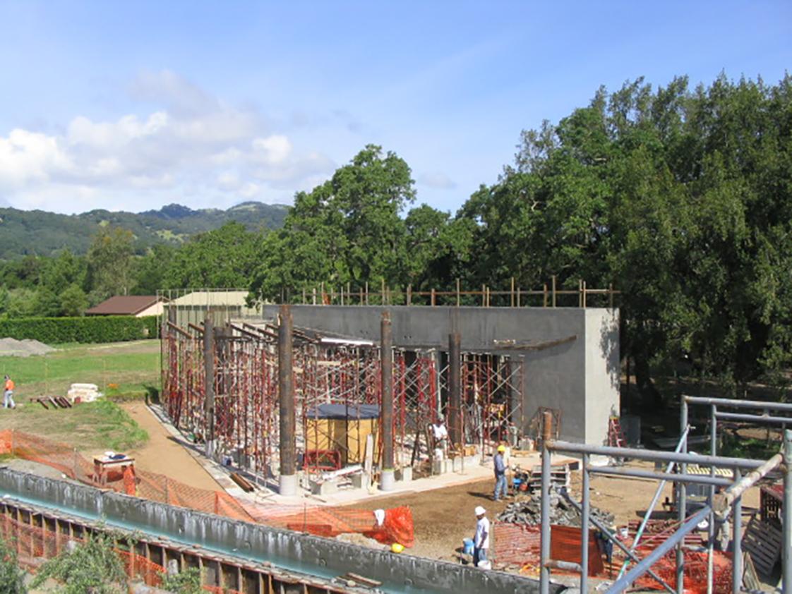 Zen Spa in construction