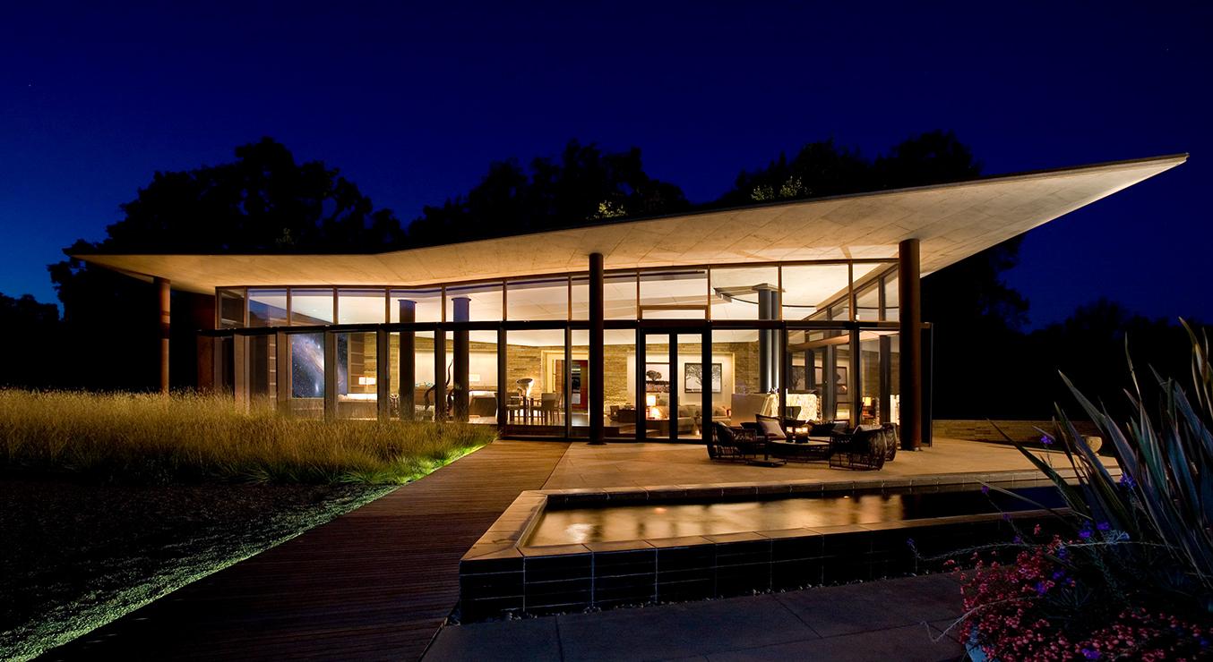 Zen Spa at night