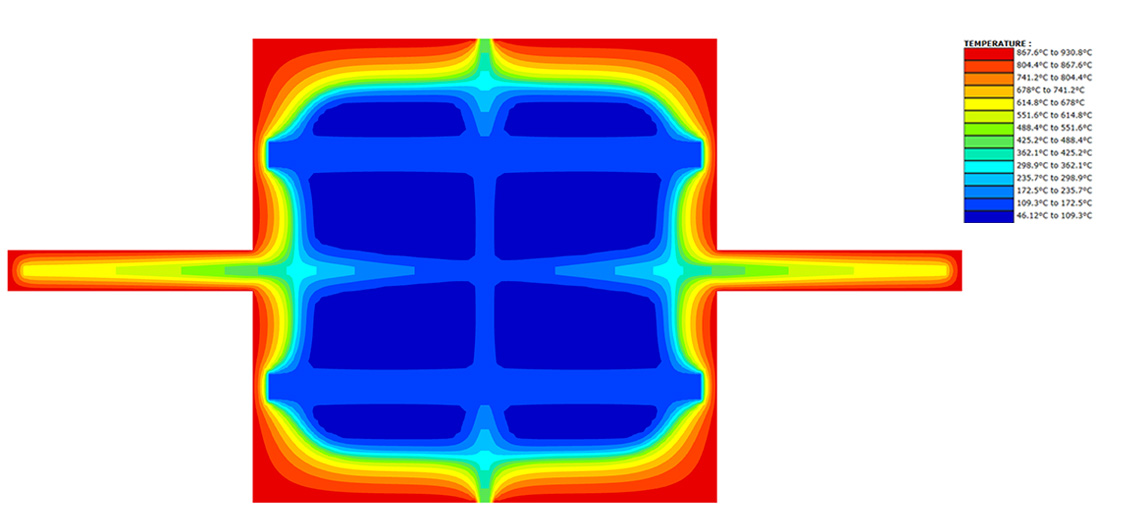 Structural Fire Engineering Thermal Finite Element Model of Heat Through Structure by Holmes Fire