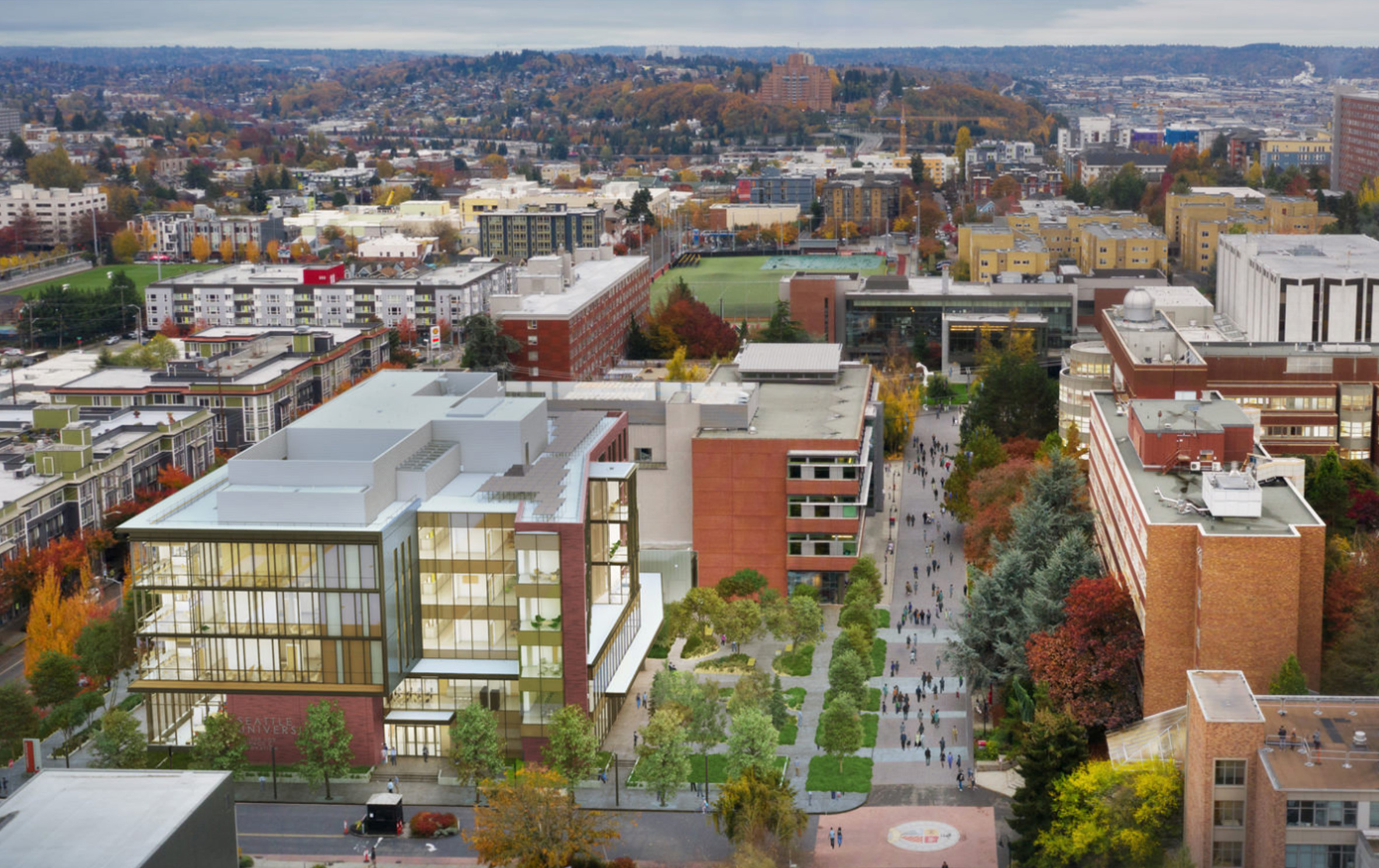 seattle university center for science and innovation