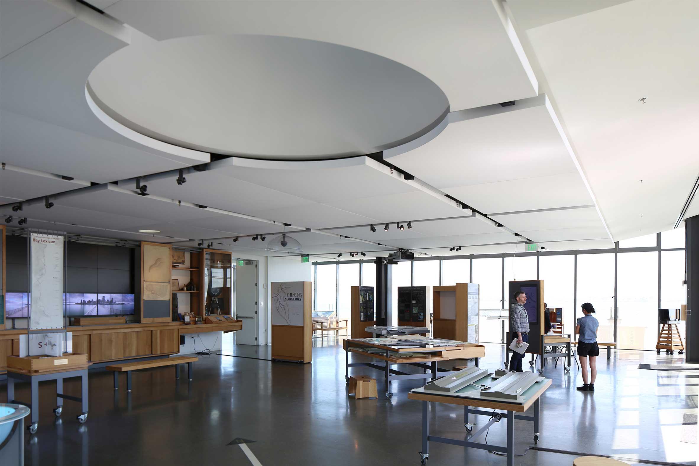 Interior Exhibit at The Exploratorium San Francisco