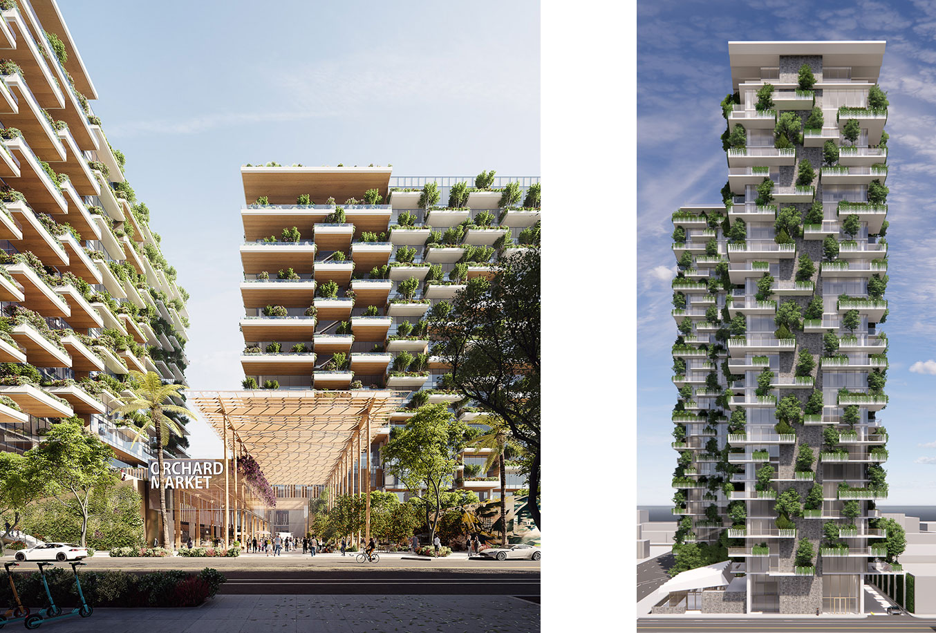 The Orchard Westbank San Jose High-Rise Rendering by WRNS Studio