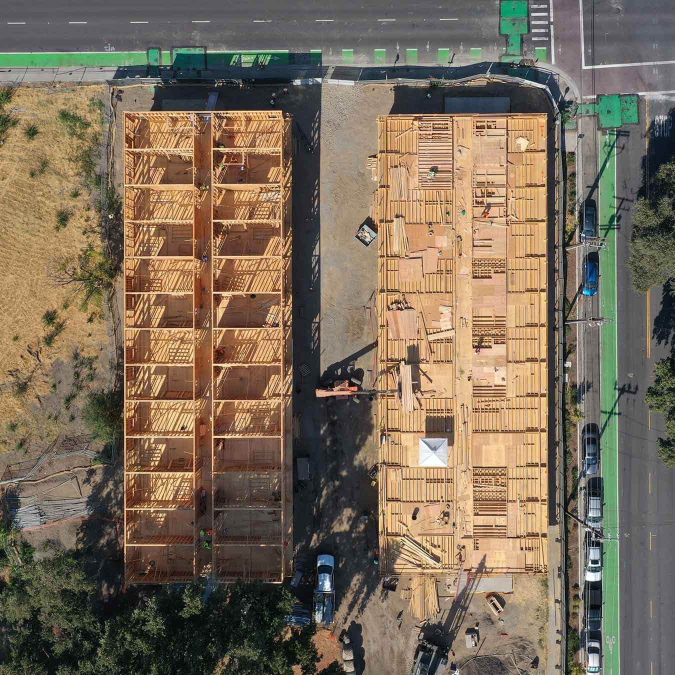 The Kind Project Mass Timber Apartments Construction California US