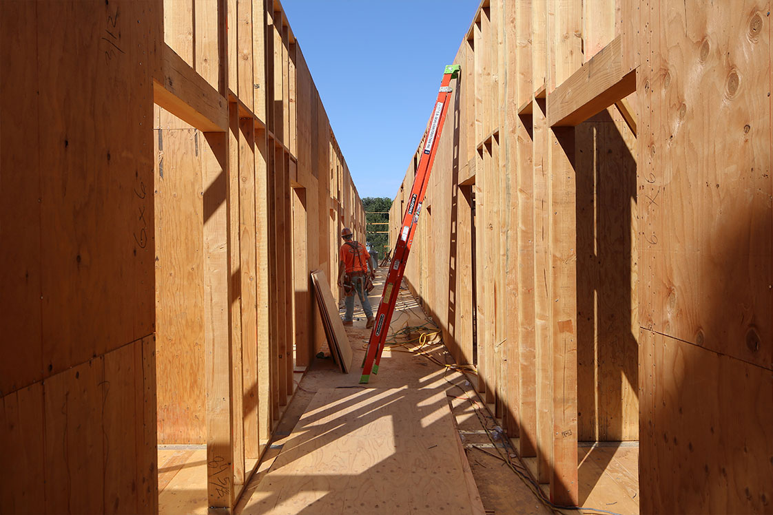 The Kind Project Light-Wood x Mass Timber Construction Affordable Housing Units